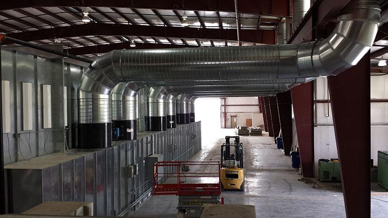 Spray Booth Ventilation System