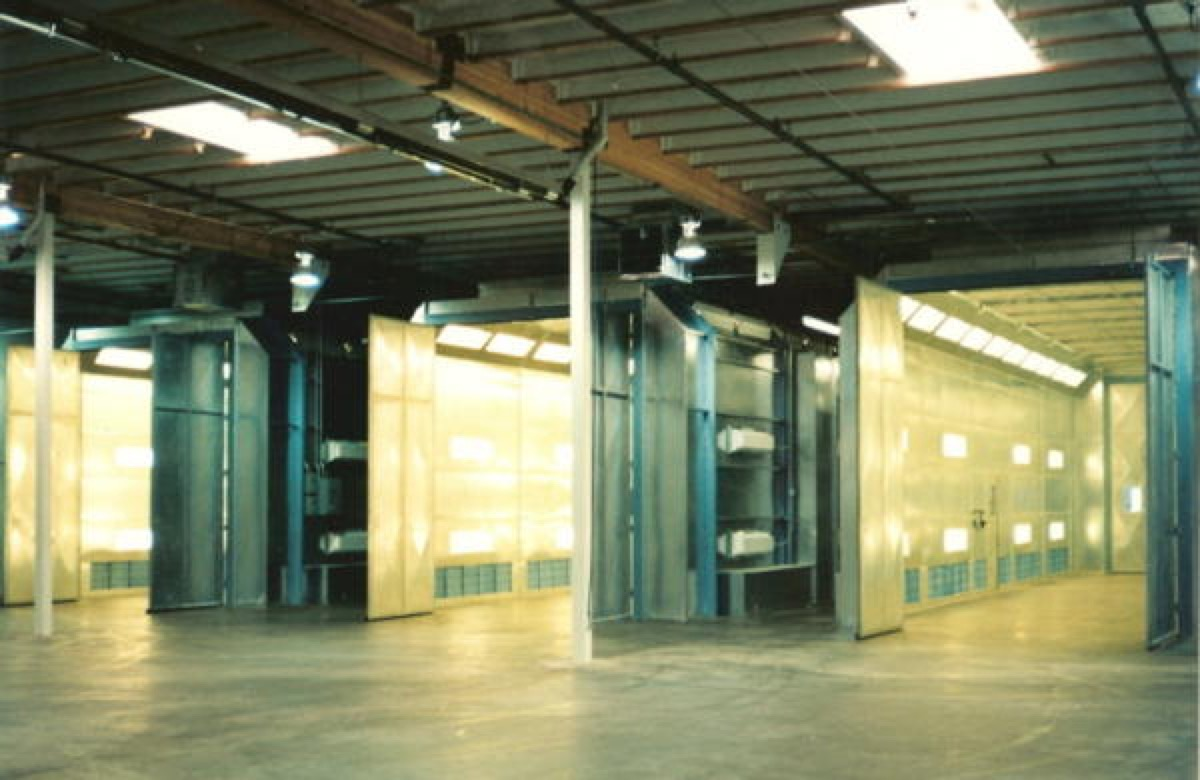 Side Downdraft Paint Booths Spray Booths Nw