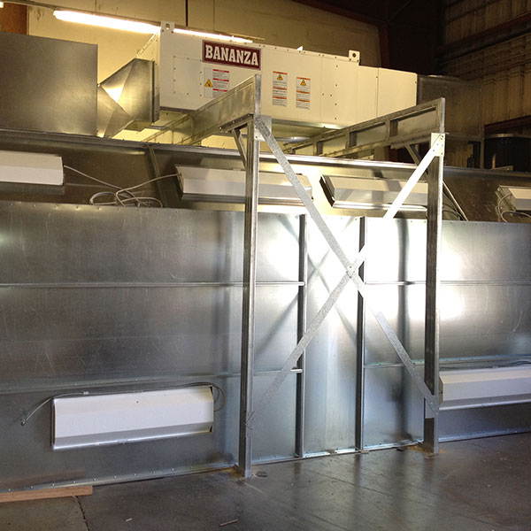 Make Up Air Heaters Spray Booths Nw