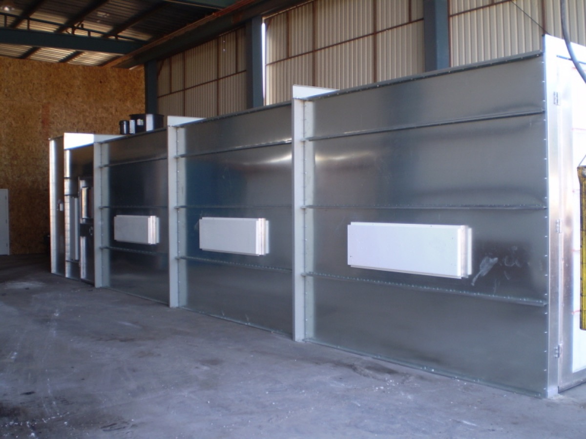 Automotive Crossflow Spray Booth 3