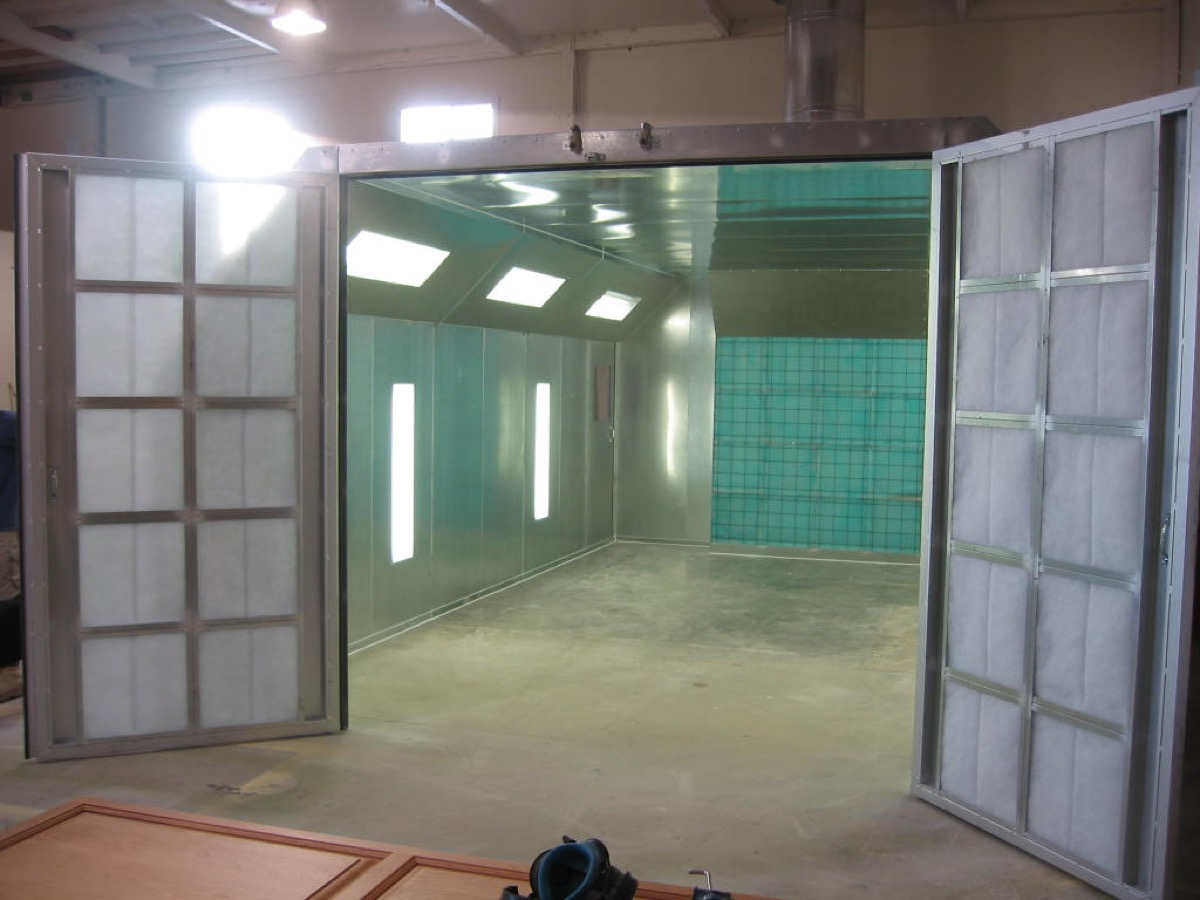 Automotive Crossflow Spray Booth 5