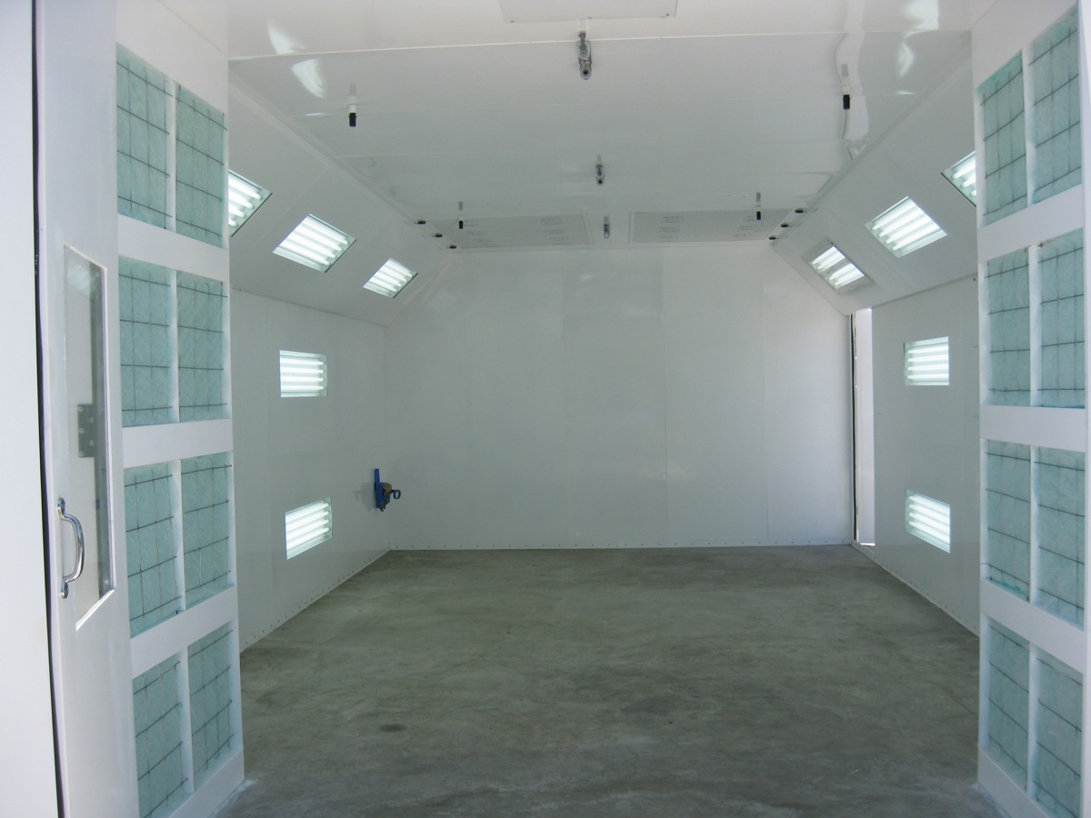 Automotive Semidown Spray Booth 2