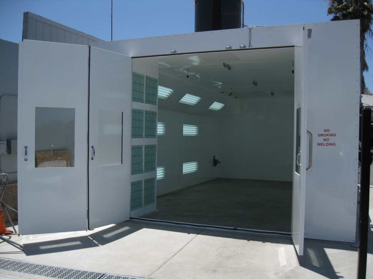 Automotive Semidown Spray Booth 3