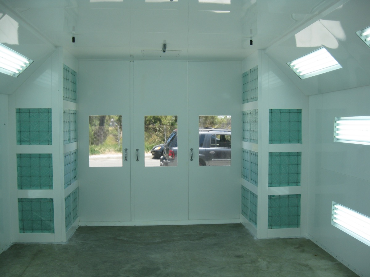 Automotive Semidown Spray Booth 4