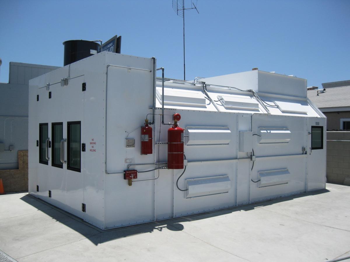 Automotive Semidown Spray Booth 5