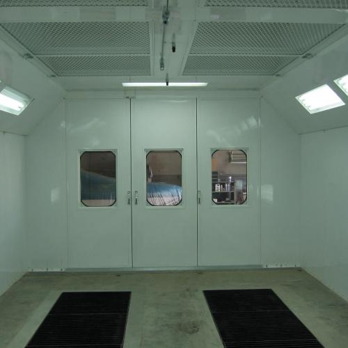 Automotive Downdraft Spray Booth 4