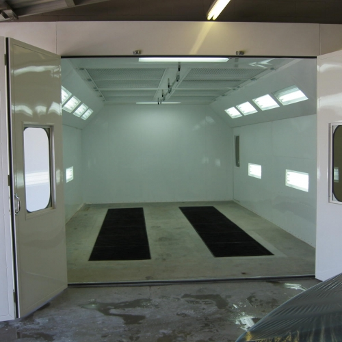 Automotive Downdraft Spray Booth 5