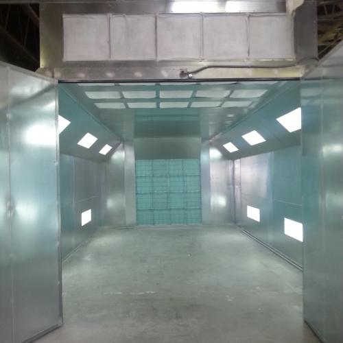 Automotive Semidown Spray Booth 1