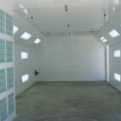 Automotive Semidown Spray Booth 2