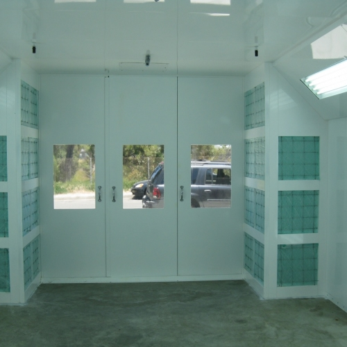 Automotive Semidown Spray Booth 4