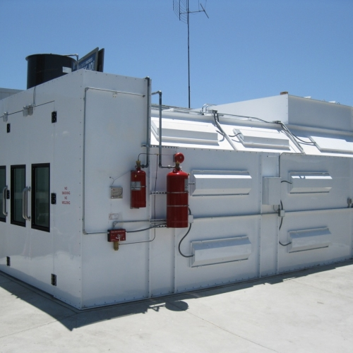 Automotive Semi Downdraft Spray Paint Booths Spray Booths Nw