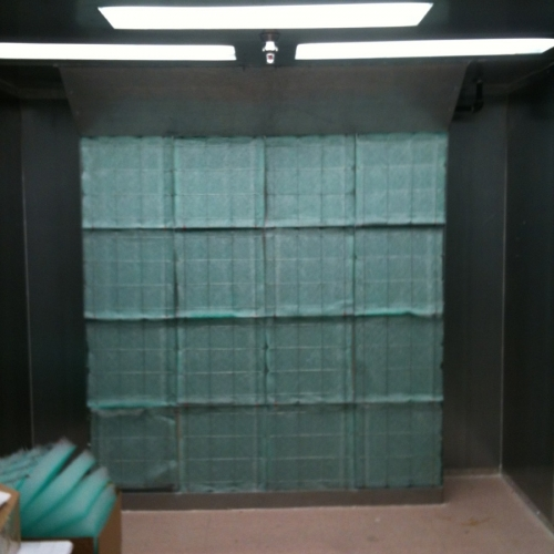 Industrial Semi Downdraft Paint Booth 2