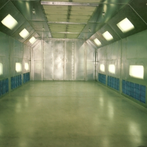 Industrial Side Downdraft Paint Booth 3