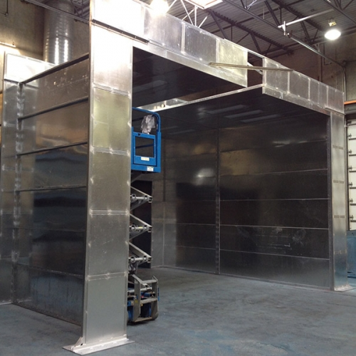 Industrial Spray Booths 1