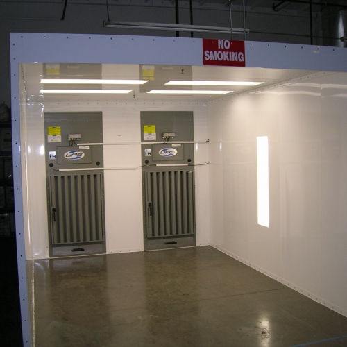 Powder Coating Booth 1