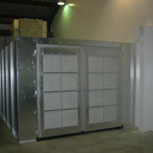 Powder Coating Booth 2