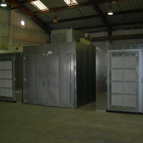 Powder Coating Booth 3