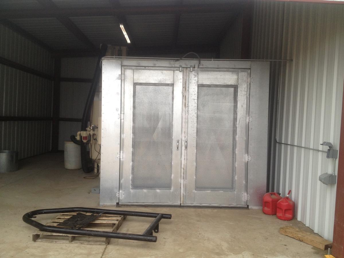 Blast Booth 3