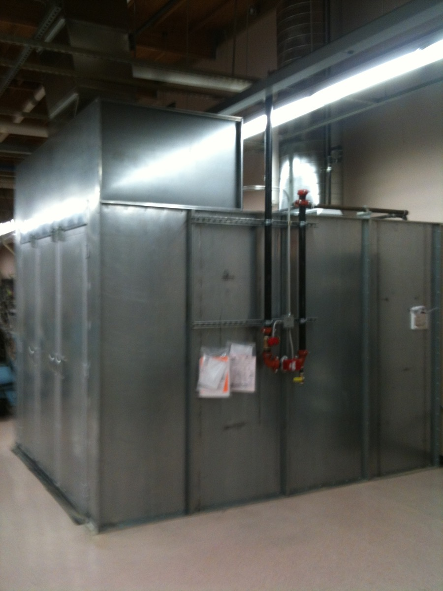 Semi Downdraft Paint Booths Spray Booths Nw
