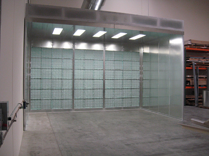 Industrial Spray Booths 2