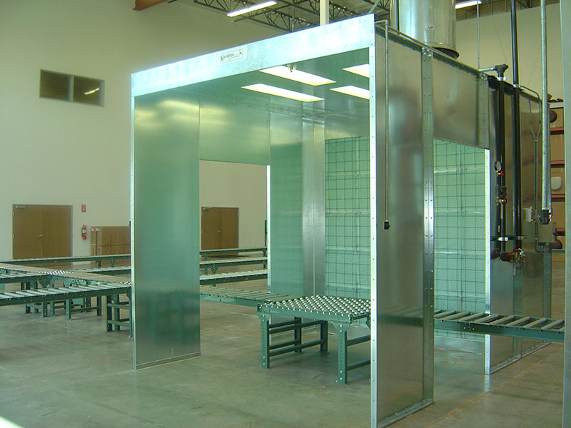 Industrial Spray Booths 4