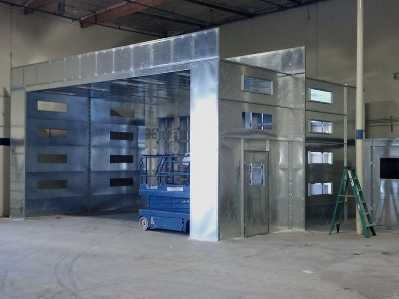 Industrial Spray Booths 5