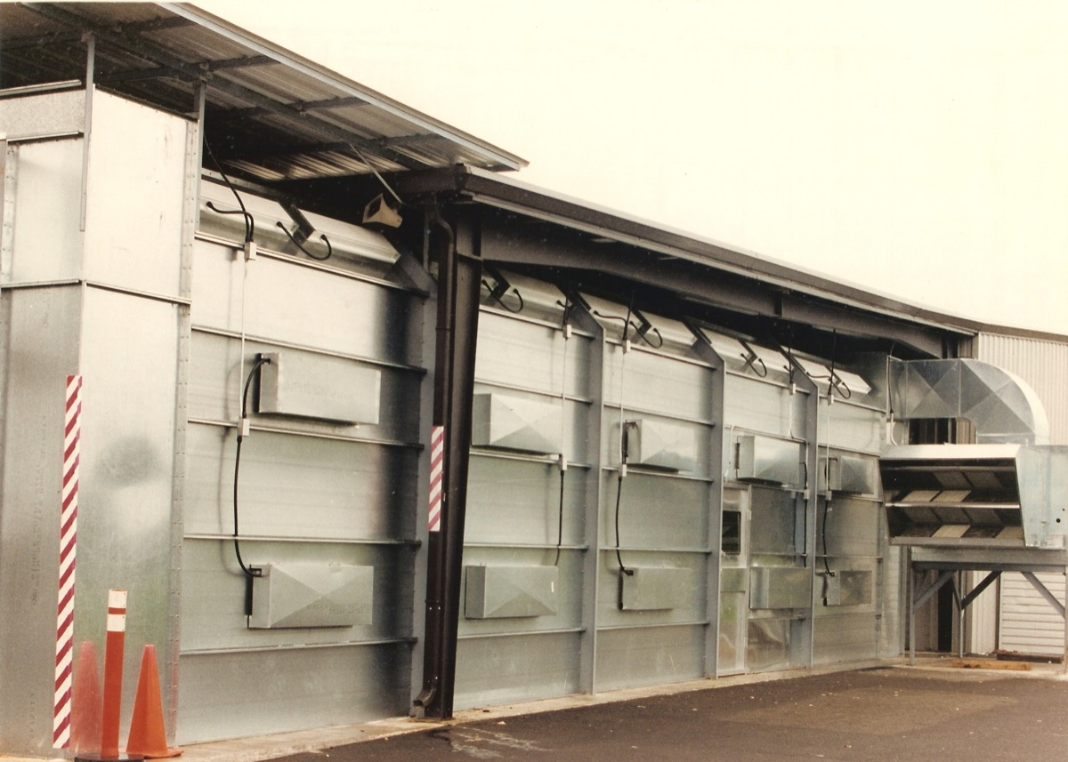 Outdoor Paint Booths 2