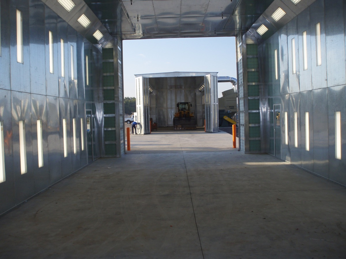 Outdoor Paint Booths 3