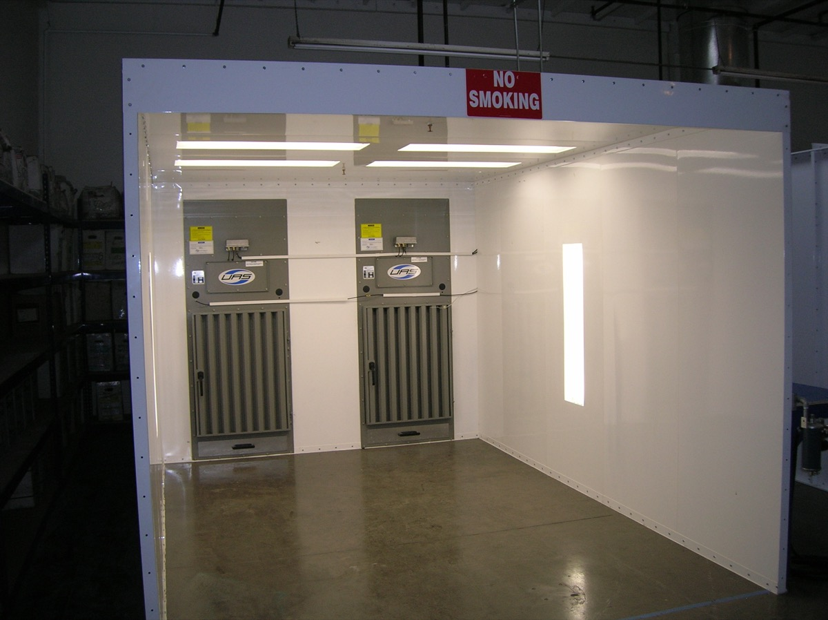 Powder Coating Spray Booths Nw