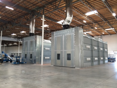 Truck Amp Rv Spray Booths Nw